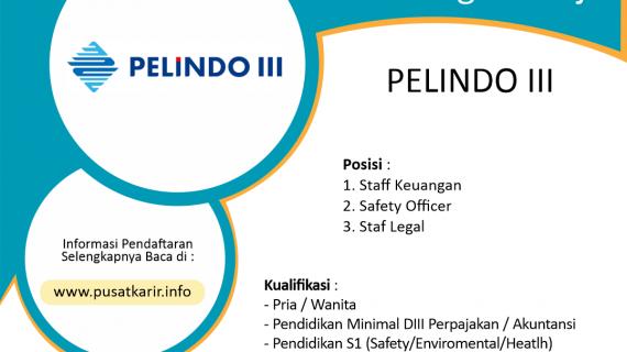 Lowongan Kerja Terbaru PT Pelindo