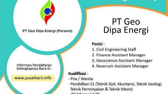 Lowongan Kerja PT Geo Dipa Energi (Persero) 2020