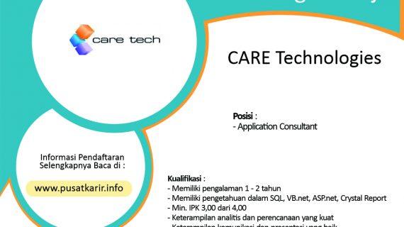 Lowongan CARE Technologies