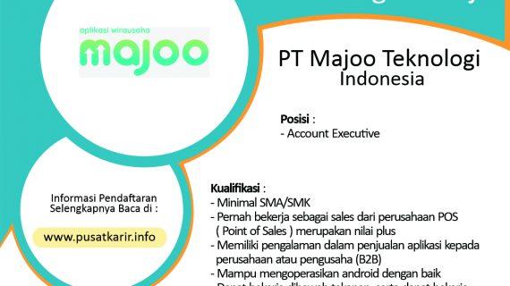 Lowongan PT Majoo Teknologi Indonesia