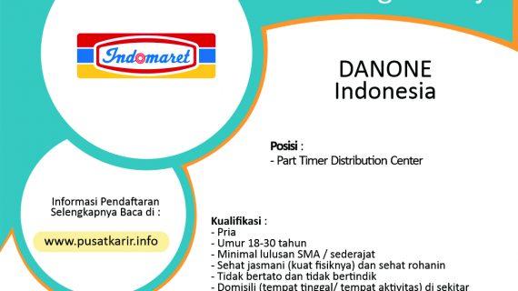 Part Timer Distribution Center Indomaret