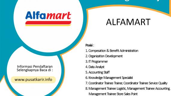 Lowongan Kerja Terbaru PT Sumber Alfaria Trijaya Tbk