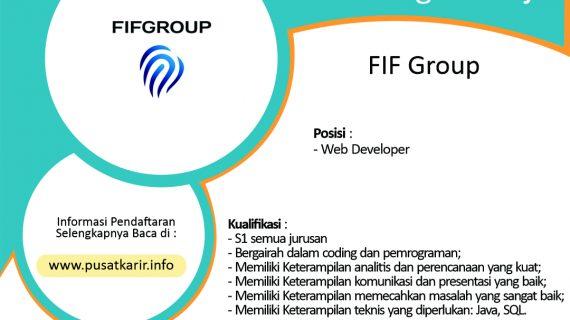 Lowongan FIF Group