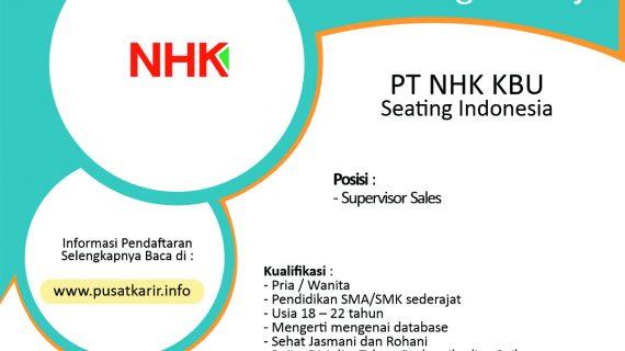 Lowongan Kerja PT NHK KBU Seating Indonesia
