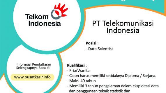 Lowongan Kerja PT Telekomunikasi Indonesia (Persero) Tbk 2020