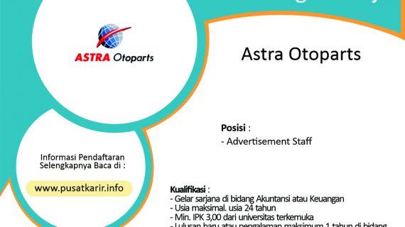 Lowongan Kerja Terbaru Astra Otoparts Januari 2020