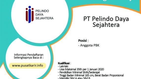 Lowongan Kerja Terbaru PT Pelindo Daya Sejahtera Januari 2020.