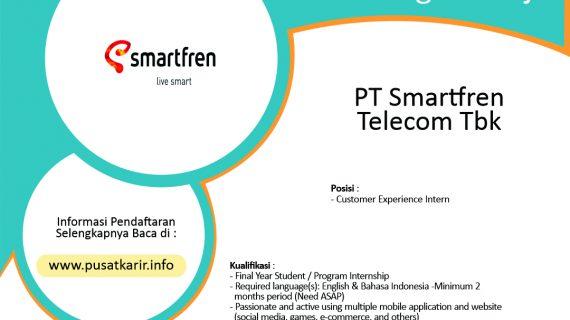 Lowongan Kerja PT Smartfren Telecom Tbk (2020)