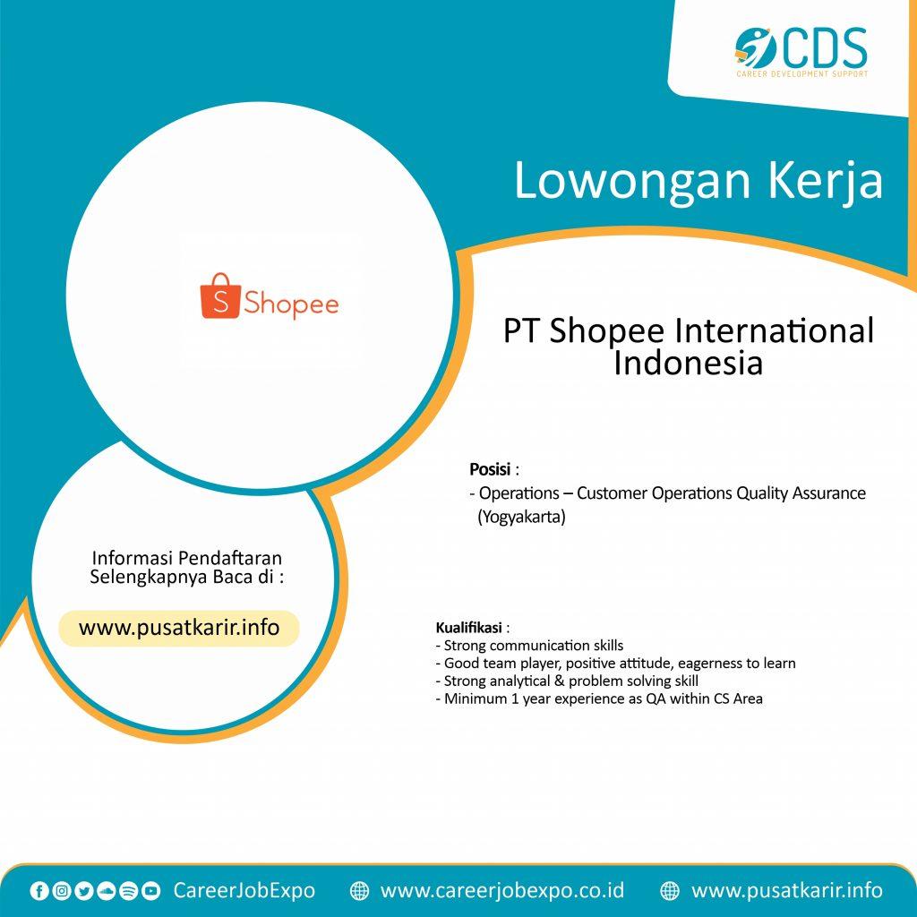Lowongan Kerja PT Shopee International Indonesia 20 – Career ...